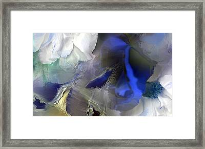 Enchanted Blues Framed Print