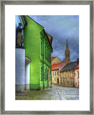 Enchanted. Bratislava Framed Print by Juli Scalzi