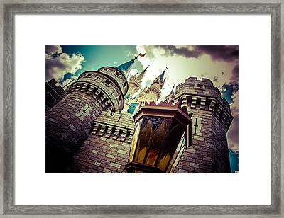 Enchanted Castle Framed Print by Andrew Delos Santos
