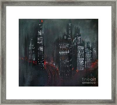 Enchanted City Framed Print