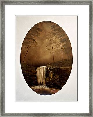 Enchanted Falls Framed Print by Joyce Krenson