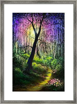 Enchanted Forest Framed Print by C Steele
