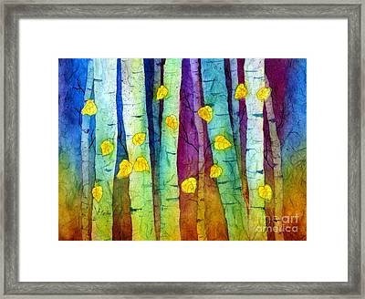 Enchanted Forest Framed Print by Hailey E Herrera