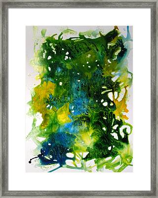 Enchanted Forest Framed Print by Mary Kay Holladay
