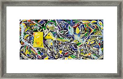 Enchanted Forest Framed Print by Wayne Salvatore