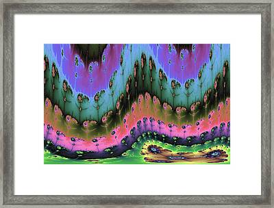 Enchanted Forests Of A New World Framed Print by Angela A Stanton