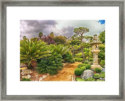 Enchanted Garden 1 Framed Print
