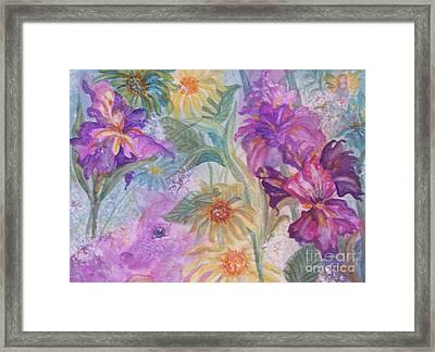 Enchanted Garden Framed Print