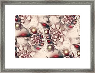 Enchanted Map Framed Print by Anastasiya Malakhova