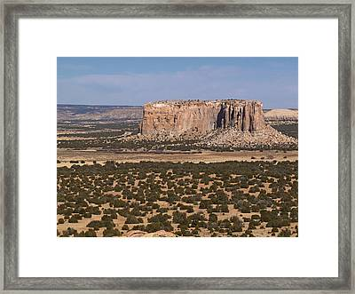 Enchanted Mesa Framed Print by Jennifer Nelson