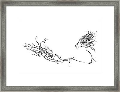 Enchanted Moment Framed Print