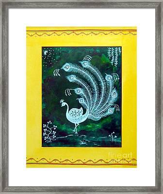 Enchanted Night II Framed Print by Anjali Vaidya