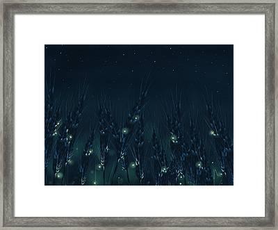 Enchanted Night Framed Print by Veronica Minozzi