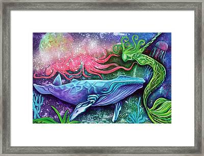 Enchanted Ocean Framed Print by Laura Barbosa