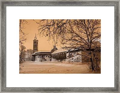 Enchanted Old Town Framed Print by Davorin Mance