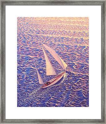 John Samsen Framed Print by John Samsen