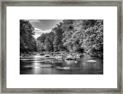 Enchanted Patapsco Framed Print by Geoffrey Baker