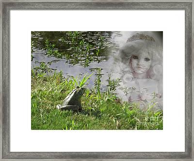 Enchanted Prince Fairy Tale Framed Print by Ella Kaye Dickey