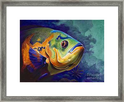 Enchanted Reef Framed Print