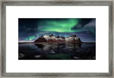 Enchanted Stokksnes Framed Print