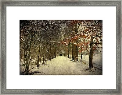 Enchanting Dutch Winter Landscape Framed Print