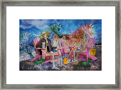 Enchanting Humor Framed Print by Betsy Knapp
