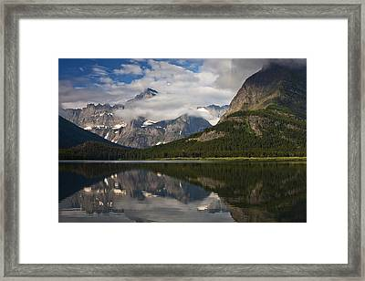 Enchanting Swiftcurrent Framed Print