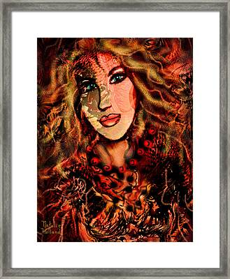 Enchanting Woman Framed Print