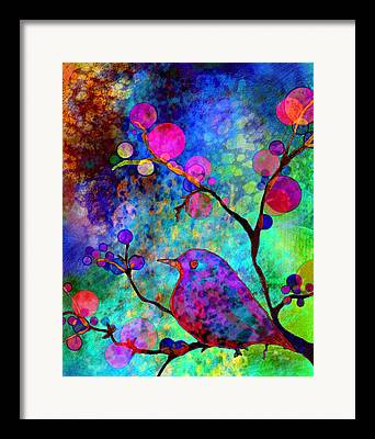 Digital Media Paintings Framed Prints