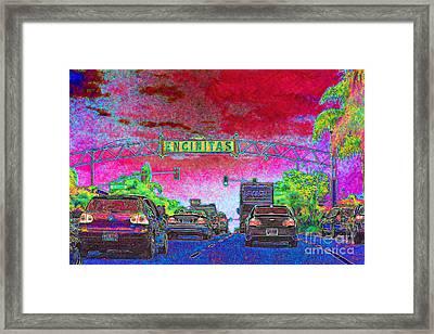 Encinitas California 5d24221 Framed Print by Wingsdomain Art and Photography