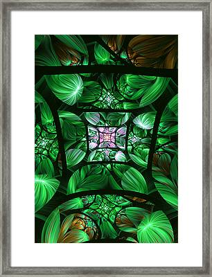 Encompassed Framed Print by Lea Wiggins
