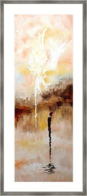 Encounter 7 Framed Print