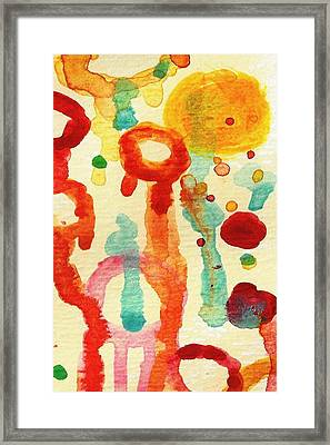 Encounters 1 Framed Print by Amy Vangsgard