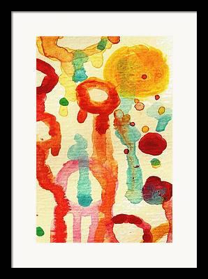 Drippingt Framed Prints