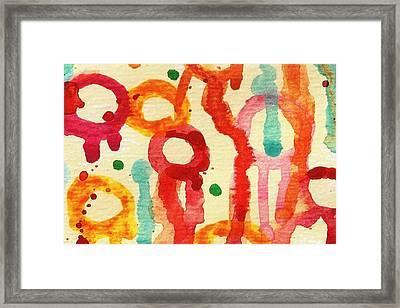 Encounters 3 Framed Print by Amy Vangsgard