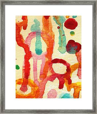 Encounters 5 Framed Print