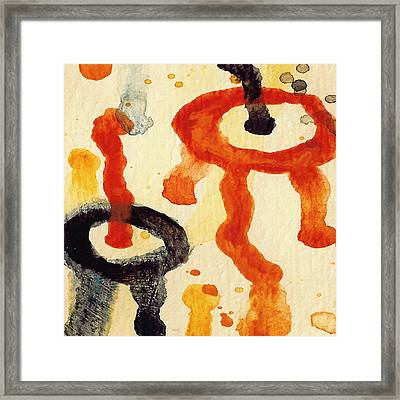 Encounters 8 Framed Print by Amy Vangsgard