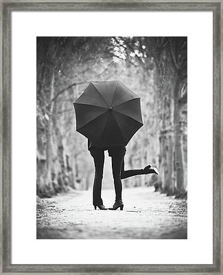 Encounters Framed Print
