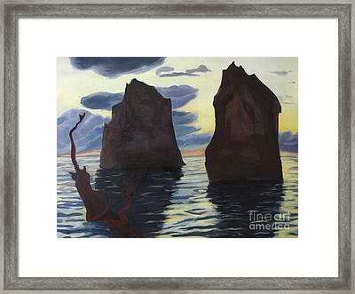 Enculturation Framed Print