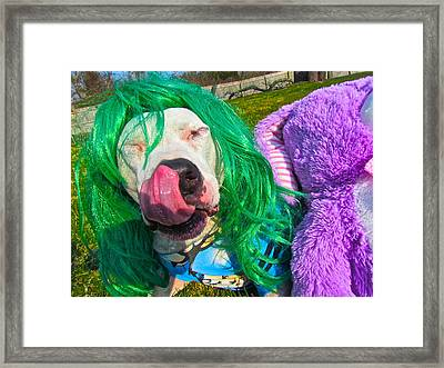 End Bsl You Cant Arrest Me Cause I'm Lady Gaga Framed Print by Q's House of Art ArtandFinePhotography