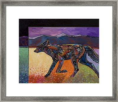 End Of A Long Day Framed Print by Bob Coonts