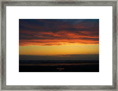 End Of A Perfect Day Framed Print