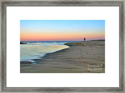 End Of A Perfect Day Framed Print by Kaye Menner