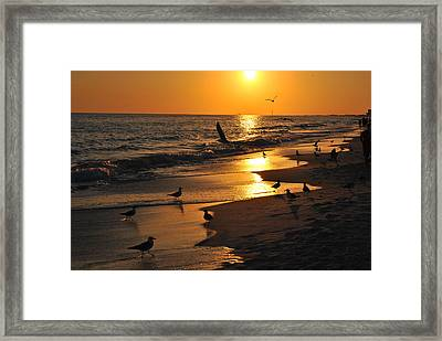 End Of Another Day Framed Print