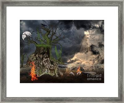 End Of Dark Night Framed Print by Image World