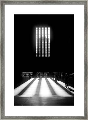 End Of Day Framed Print by Evan Buyze