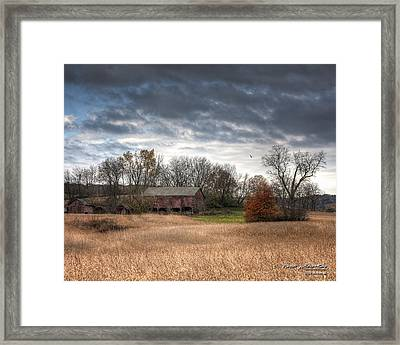 End Of Fall - Ohio IIi Framed Print