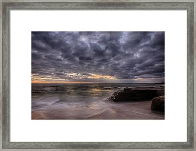 End Of Light Framed Print by Peter Tellone
