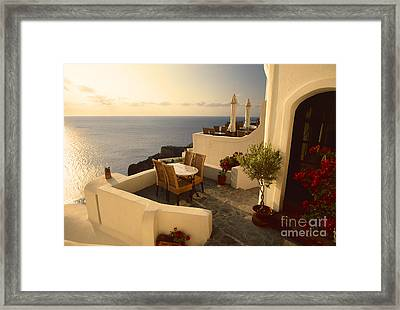 End Of Summer Framed Print by Aiolos Greek Collections