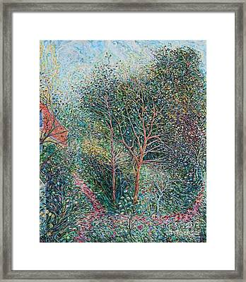 End Of Summer Framed Print by Anna Yurasovsky
